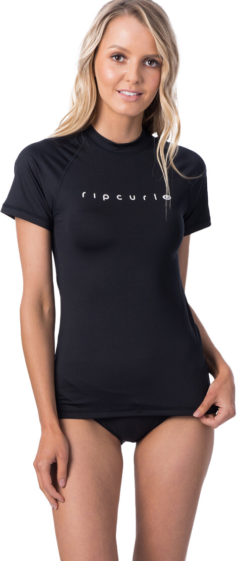 Rip Curl Sunny Rays Relaxed UV T shirt Damer, black
